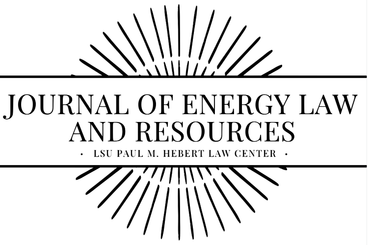 LSU Journal of Energy Law & Resources